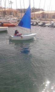 le départ du ponton