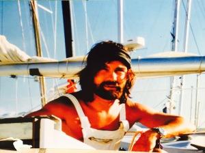 Photo Alain sur son voilier