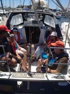 l'équipage au port